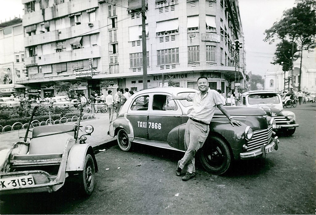 Saigon Taxi Driver in 1970, at the height of the Vietnam War