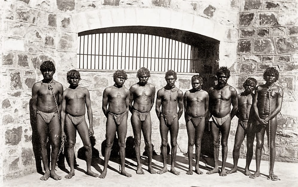 The lot of Australia's indigineous people was terrible thanks to Terra Nullis